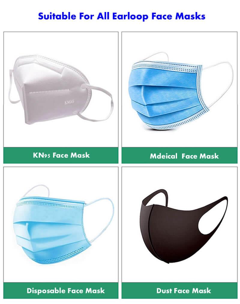 mask extender for earloop face masks