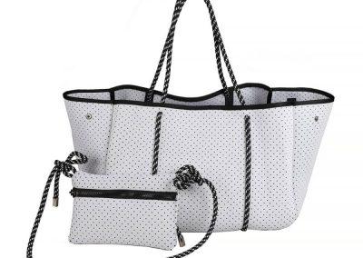 neorene white bag