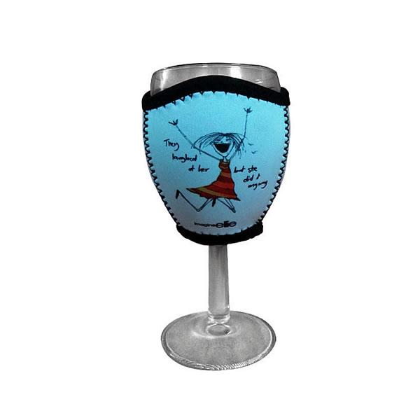 neoprene wine glass koozies