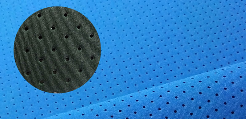 perforated neoprene fabric